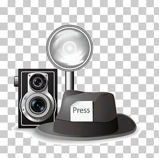 Hat Webcam Computer Speakers PNG