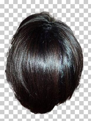 Hair Coloring Black Hair Wig Long Hair PNG