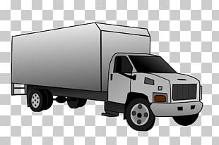 Car Van Truck Bed Part Commercial Vehicle PNG
