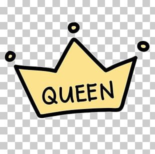 Drawing Crown Queen PNG