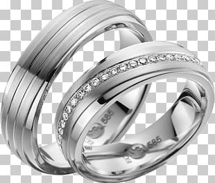 Wedding Ring Silver Jewellery Gold PNG