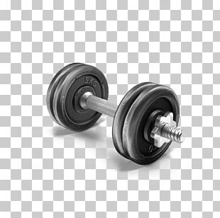 Dumbbell Weight Training PNG