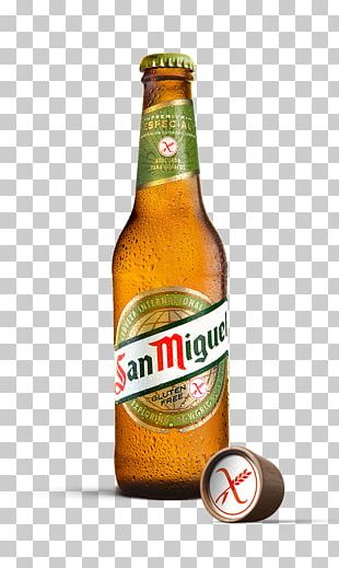 Lager San Miguel Beer Low-alcohol Beer Gluten-free Beer PNG