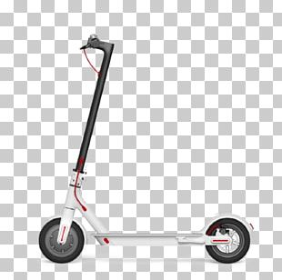 Electric Kick Scooter Patinete Eléctrico Xiaomi Mi Electric Scooter M365 Blanco Electric Motorcycles And Scooters PNG