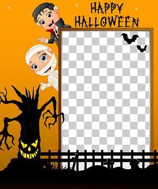 Halloween Illustration PNG