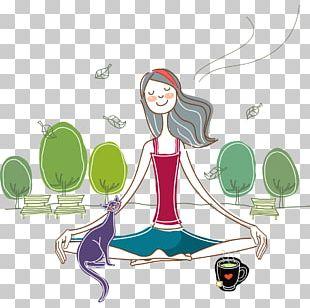 Meditation Happiness PNG