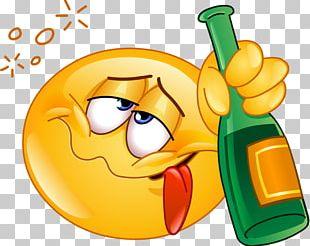 Emoticon Smiley Alcohol Intoxication PNG