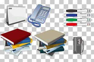 Office Supplies Notebook PNG
