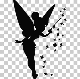 Sticker Tinker Bell Wall Decal Hatstand PNG