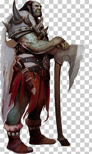 Pathfinder Roleplaying Game Dungeons & Dragons Half-orc Warrior PNG
