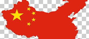 Flag Of China Map National Flag PNG