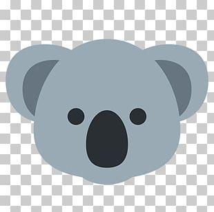 Australia Koala Emoji Sticker IPhone PNG