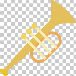 Trumpet Mellophone Wind Instrument Icon PNG