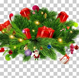 Christmas Tree Gift Computer File PNG