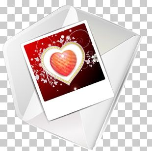 Valentines Day Greeting Card Heart PNG