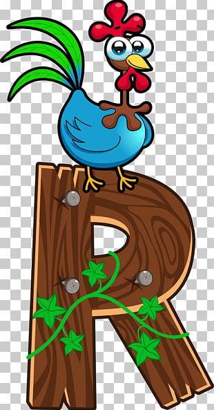 English Alphabet Letter Cartoon All Caps PNG