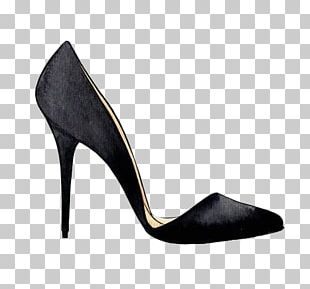 High-heeled Footwear Watercolor Painting Court Shoe Designer PNG
