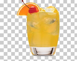 Orange Juice Punch Cocktail Rum PNG