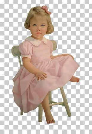 Toddler Doll Pink M Infant RTV Pink PNG