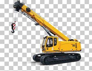 Mobile Crane クローラークレーン Heavy Machinery Manitowoc Cranes PNG