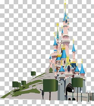 Walt Disney World Sleeping Beauty Castle Brazil Ariel PNG