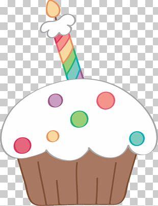 Cupcake Birthday Cake PNG