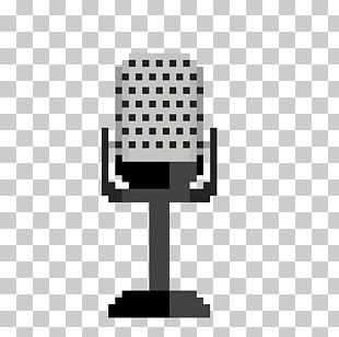 Microphone YouTube Pixel Art PNG