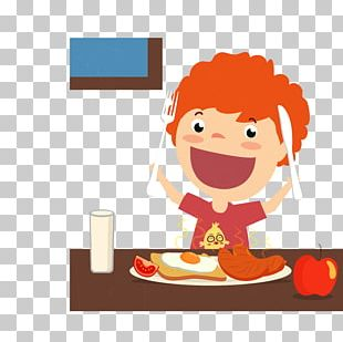 Breakfast Cereal Full Breakfast Eating Illustration PNG