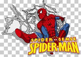 Spider-Man Cartoon PNG