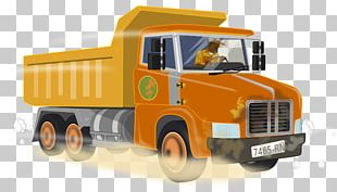 Commercial Vehicle Mack Trucks Dump Truck Car PNG