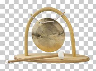 Gong Brass Standing Bell Klangschalen-Center Industrial Design PNG