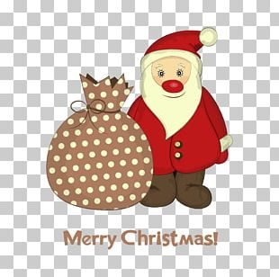 Santa Claus Wedding Invitation Christmas Card Greeting Card PNG