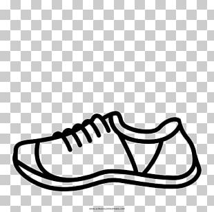 Shoe Drawing Sneakers Coloring Book Running PNG