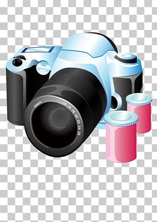 Professional Video Camera Digital SLR Photography PNG