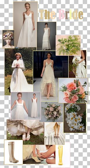 Wedding Dress Bride Flower PNG