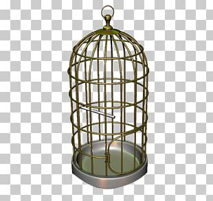 Bird Cage Iron PNG