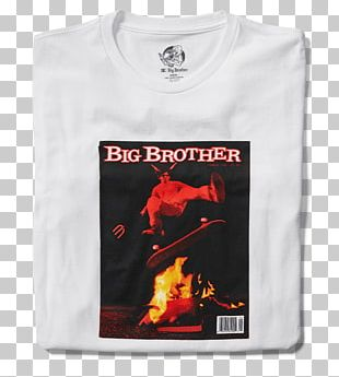 T-shirt The Big Brother Book Magazine Sleeve PNG
