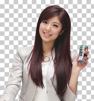 Hair Coloring Long Hair Bangs Layered Hair PNG