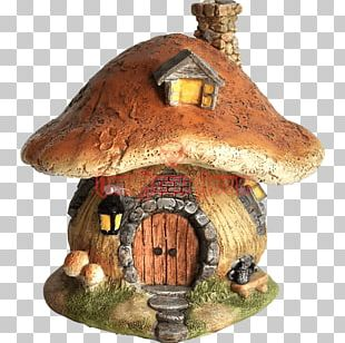 Fairy House Window Garden Roof PNG