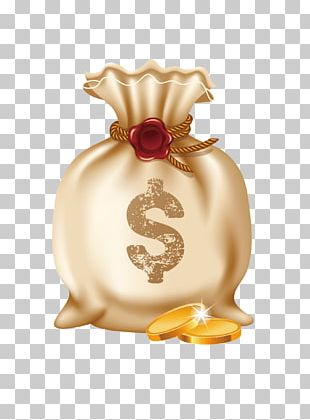 Money Bag Gold Coin Euclidean PNG
