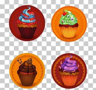 Cupcake Halloween Cake PNG