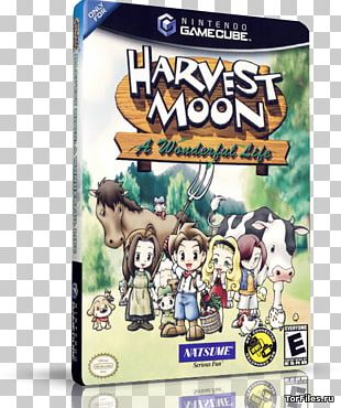 Harvest Moon: A Wonderful Life Harvest Moon: Another Wonderful Life GameCube PlayStation 2 PNG