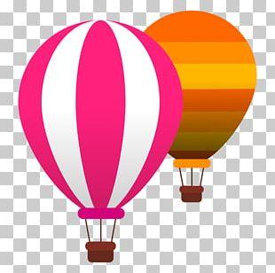 Hot Air Ballooning Flight PNG