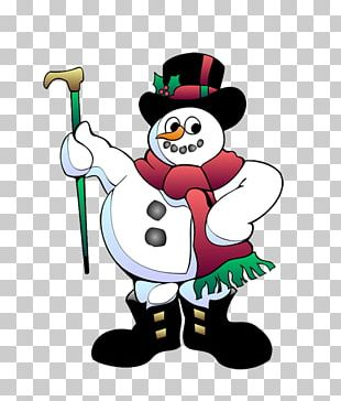 Snowman Animation Christmas PNG