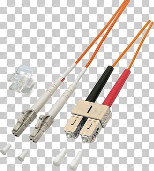 Optical Fiber Cable Optical Fiber Connector Multi-mode Optical Fiber Network Cables PNG