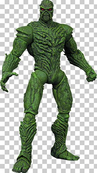 Swamp Thing Action & Toy Figures The New 52 Justice League Dark DC Collectibles DC Action Figure PNG