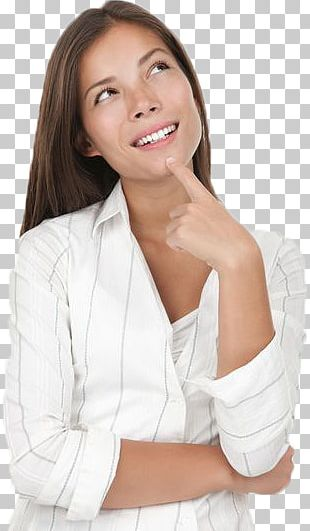 Thinking Woman PNG