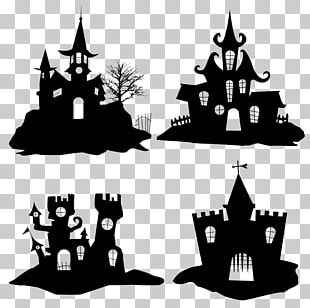 Halloween Silhouette Icon PNG