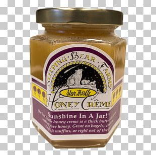 Condiment Creamed Honey Sleeping Bear Farms Maple Sugar PNG