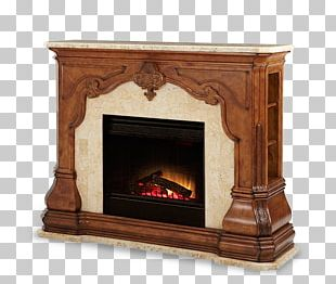 Furniture Hearth Electric Fireplace Fireplace Mantel PNG